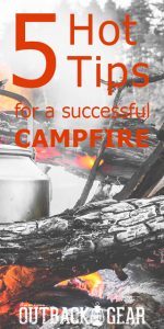 outdoor campfire DIY camping outdoor gear survival